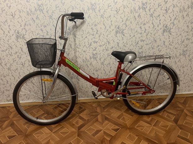 Городской складной велосипед Салют+ 24 (Украина) 2020 Харьков