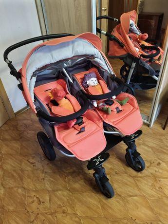 Продам прогулочную коляску для двойни X-lander X-twin в Херсоне