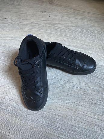 Кожаные туфли, next, обувь в школу, ботинки