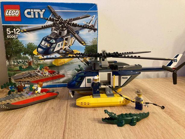 Super LEGO City Policja 60067 Pościg śmigłowcem