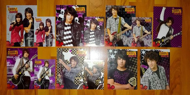 Karteczki Camp Rock - A5 i A6