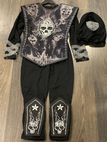 Дитячий костюм ніндзя для хлопчика 7-8 років 128 / ігровий / ниндзя