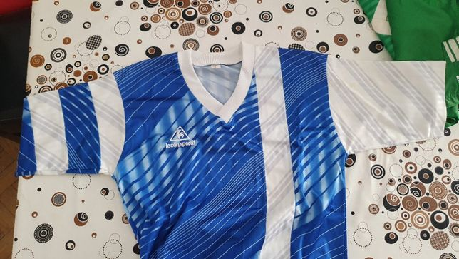 Camisola Futebol Le Coq Sportif tamanho M RETRO VINTAGE Anos 90