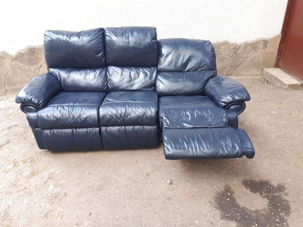 Шкіряний диван 3ка RELAX Шкіряні дивани Кожаная мебель Гарнітур