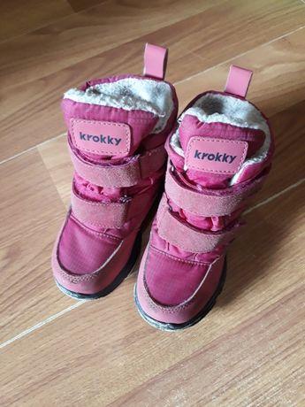 Зимние ботинки Krokky