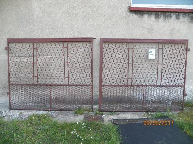 Brama wjazdowa dwuskrzydłowa 350 cm.