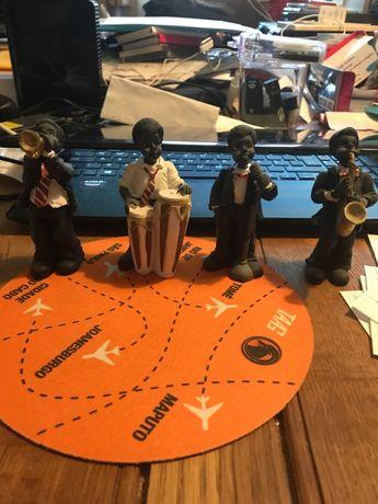Conjunto de músicos africanos