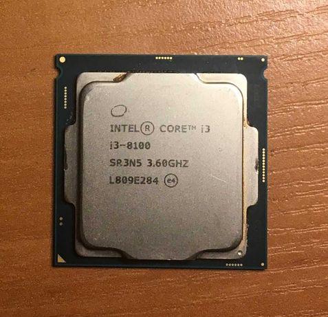 Процессор Intel Core i3 8100 Socket 1151 4 ядра 3,6 GHz