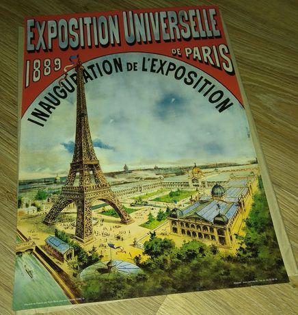 Plakat z Paryża