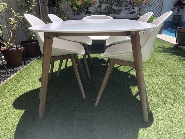 Mesa de Jardim / Exteriores + 8 cadeiras