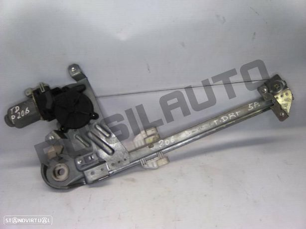 Elevador Completo Trás Direito Elétrico Simples Peugeot 206 Ha