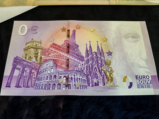 BANKNOT 0 EURO TARNÓW * Kolekcjonerski * 2020 * Komplet Emitenta!