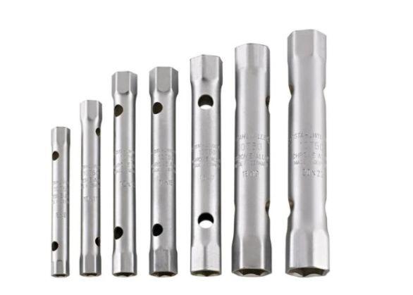 Klucze rurowe zestaw 9 sztuk 6-22 MM