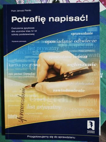 Potrafię napisać. ćwiczenia jezykowe