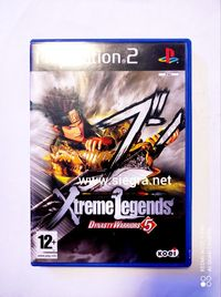 Dynasty Warriors 5 extreme legends PS2