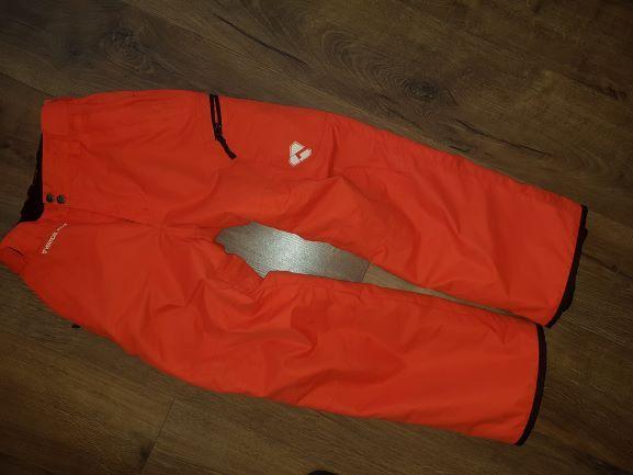 Pomarańczowe spodnie narciarskie CUBUS 152