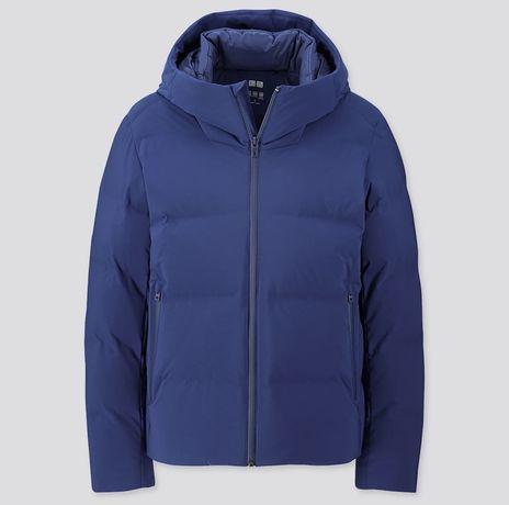 Фирменная пуховая куртка парка пуховик Uniqlo