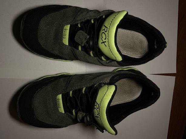 Кроссовки на мальчика RCX bama раз 34 по стельке 21 см натур кожа замш