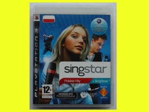 Singstar Polskie Hity cz. 1 PS3 karaoke