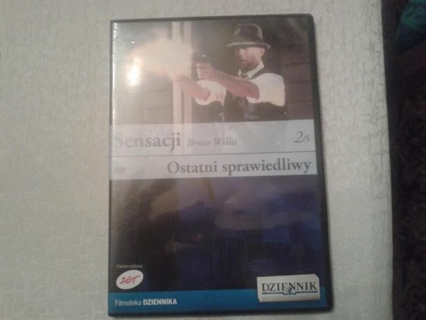 """Filmy DVD """"Ostatni sprawiedliwy"""", """"Osaczony"""" i """"Na Fali"""""""