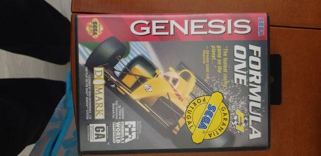 Jogo Fórmula 1 Mega Drive
