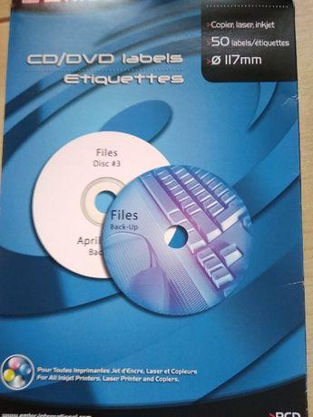 Продам наклейки на CD\DVD диски EMTEK
