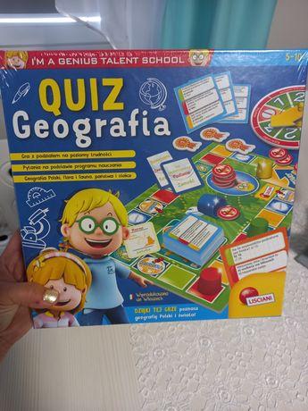 """Gra nowa """"quiz geografia"""""""