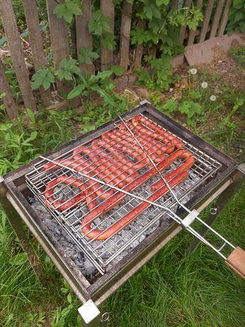 Решетка для гриля и барбекю из НЕРЖАВЕЙКИ.Сетка на мангал