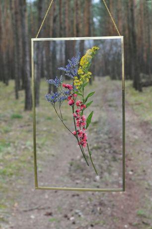 Spersonalizowane ramki z suszonych kwiatów