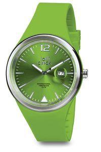 Lolli Clock Evolution Date zegarek datownik zielony