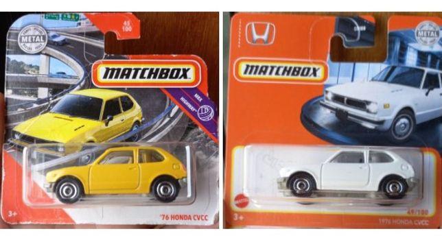 76 Honda matchbox (só vendo o conjunto)