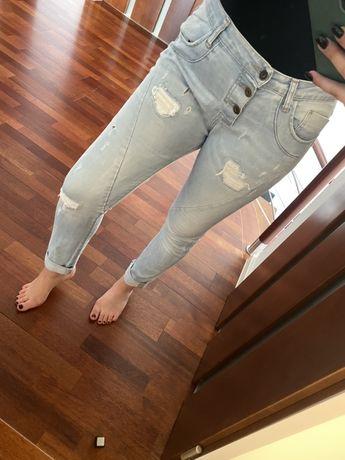Spodnie jeansowe marki Please rozmiar S