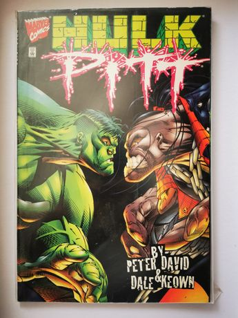 Comic hulk vs pitt em inglês