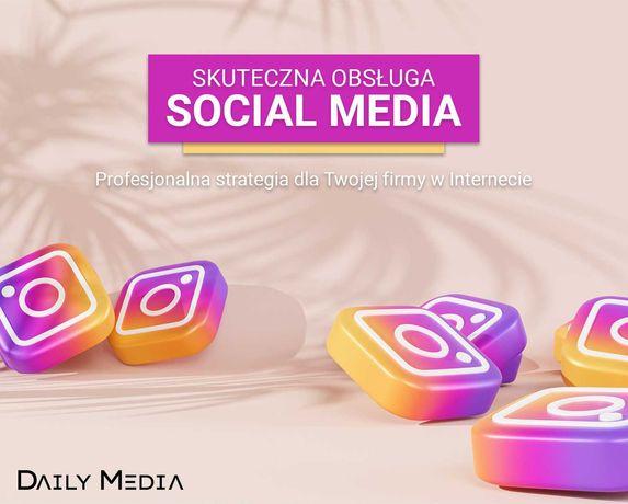 Prowadzenie Social Media - Facebook/Instagram/TikTok