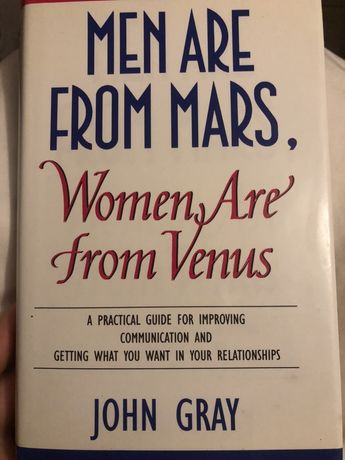 Angielski Men are from mars, women are from venus po angielsku