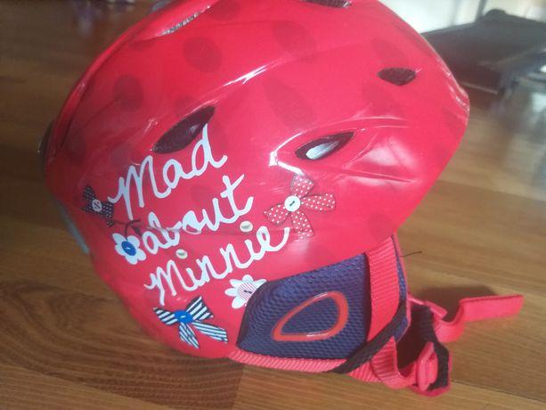 Sprzedam kask narciarski, dziecięcy Disney model Myszka Minnie r. M