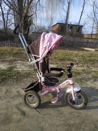 Велосипед коляска трьохколісний
