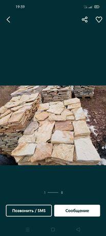 Продам природній натуральний камінь плитка соломка лапша сходи