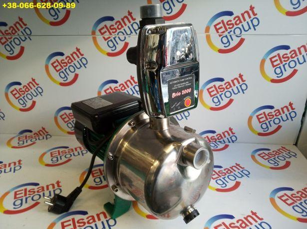 Насос JY1000 автомат+защита самовсасывающий для колодцы полива 1,1kw