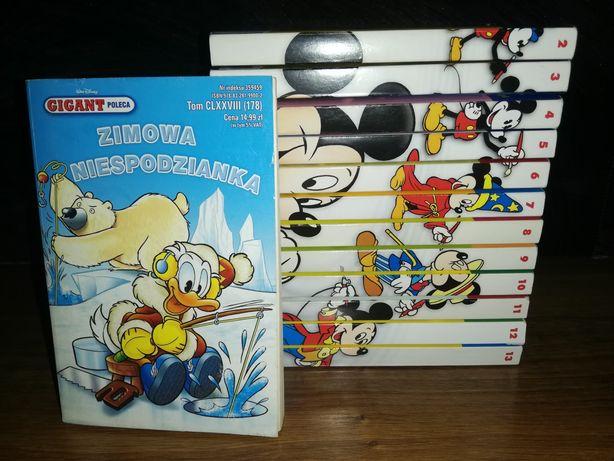 Komiksy Gigant Poleca rok 2015 i 1998 Kaczor Donald