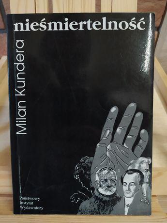 Nieśmiertelność. Milan Kundera (pierwsze polskie wydanie)