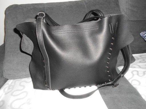 TOMMASINI torebka damska do ręki/listonoszka,czarna