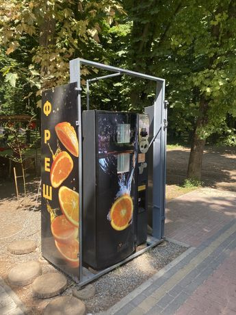 zumex вендінговий автомат фреш вендинг бизнес