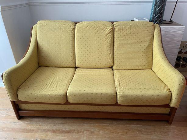 Sofá cama Vintage 3 lugares