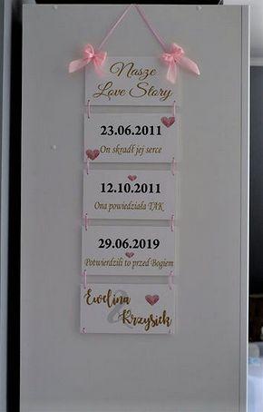 Love story tablice z historią miłości tabliczki, metryka, metryczka