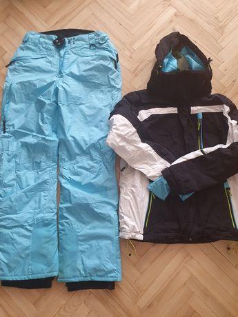 Kurtka i spodnie narciarskie damskie