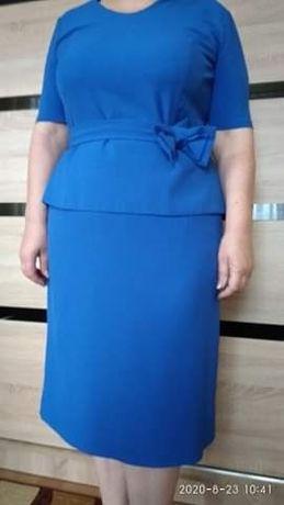 Piękna i wygodna chabrowa suknia!