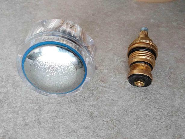 Pokrętło do zimnej wody z głowicą 1/2 kran bateria