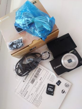 фотоаппарат canon powershot A2500 карта памяти 16Гб адаптер кабель