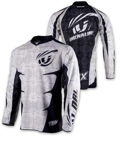 Calças + camisola Drenaline TTX motocros Escalos De Cima E Lousa - imagem 1